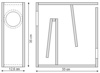 tubulus bausatz im angebot bei spectrumaudio spezialvertrieb f r breitbandlautsprecher und mehr. Black Bedroom Furniture Sets. Home Design Ideas
